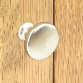 Silver Door Knob Close Up
