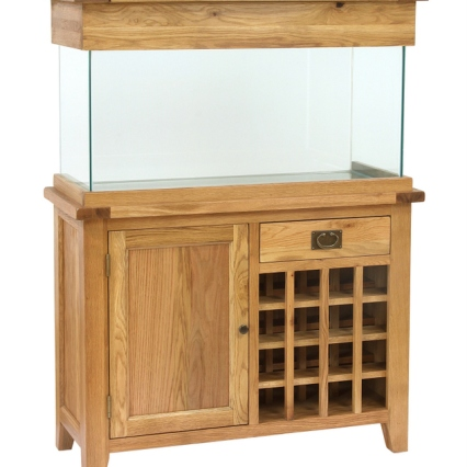 AQ110WR 110cm Wine Rack Aquarium (no wine)