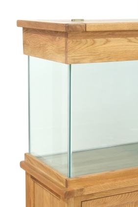 AQ150D 150cm Doors and Drawers Aquarium Corner Shot