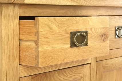 AQ150D 150cm Doors and Drawers Aquarium Drawer Close Up
