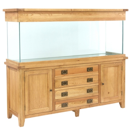 AQ180D 180cm Doors and Drawers Aquarium
