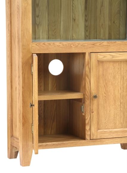 AQ96B Bookcase Door Open Close Up