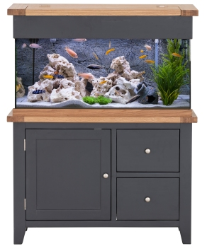 Black Edition 110cm Doors and Drawers